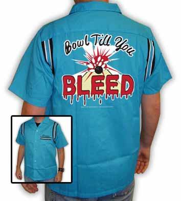Bowl till you bleed Bowling Shirt
