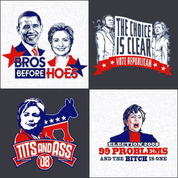 Political T-Shirts at T-Shirt Hell