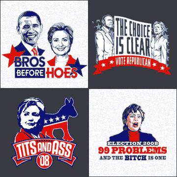 Political T-Shirts at T-Shirt Hell