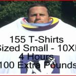 T-Shirt Wearing Record Video