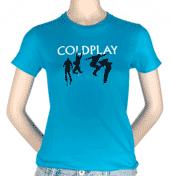 Cool Blue Coldplay T-Shirt