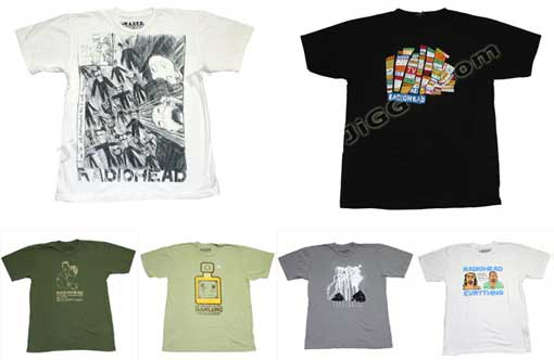 Radiohead Greatest Hits Album