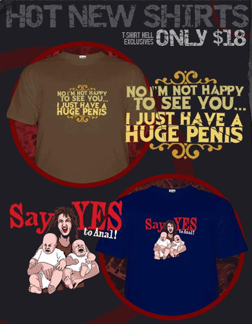 T-Shirt Hell New T-Shirts