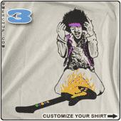 Threadpit\'s The Guitar Hero T-Shirt