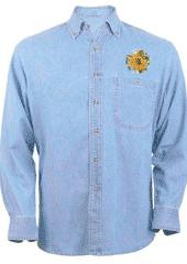 Sunflower Denim Shirt