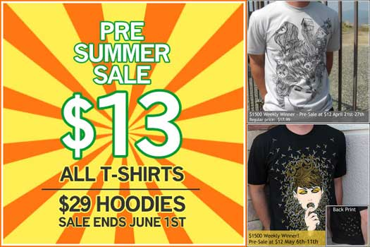 $13 Tee Shirts from Uneetee