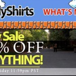 25% Sale at Nerdy Shirts