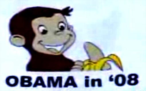 Obama Monkey t-shirt