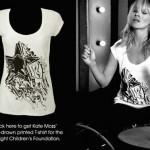 Kate Moss Chari t-shirt