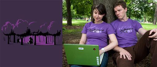 Threadless Technology Ruins Nature T-Shirt