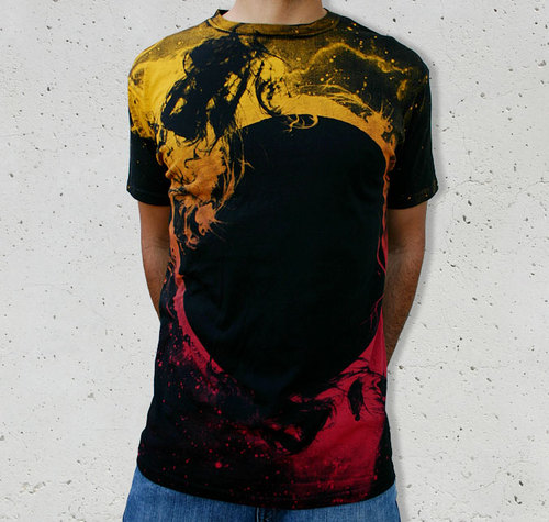 Black Hole Sun by Collision Theory T-Shirt at Design by Humans