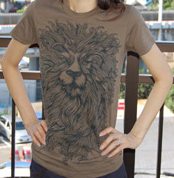 King Leo T-Shirt from Uneetee