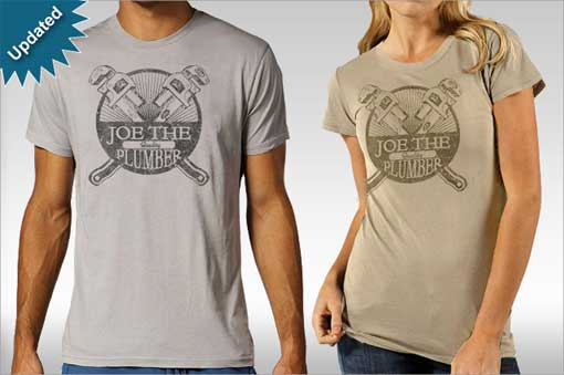 Joe the Plumber at Tee Fury
