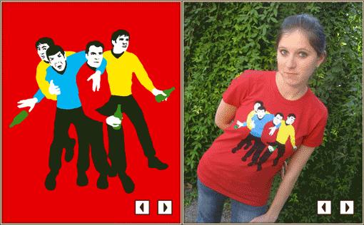 Bar Trekkin' T-Shirts Last Days