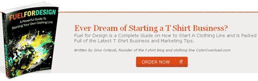Fuel for Design: Start your own t-shirt business