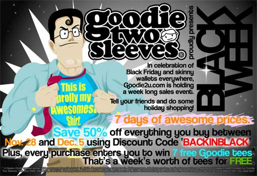 Goodie Two Sleeves Sale
