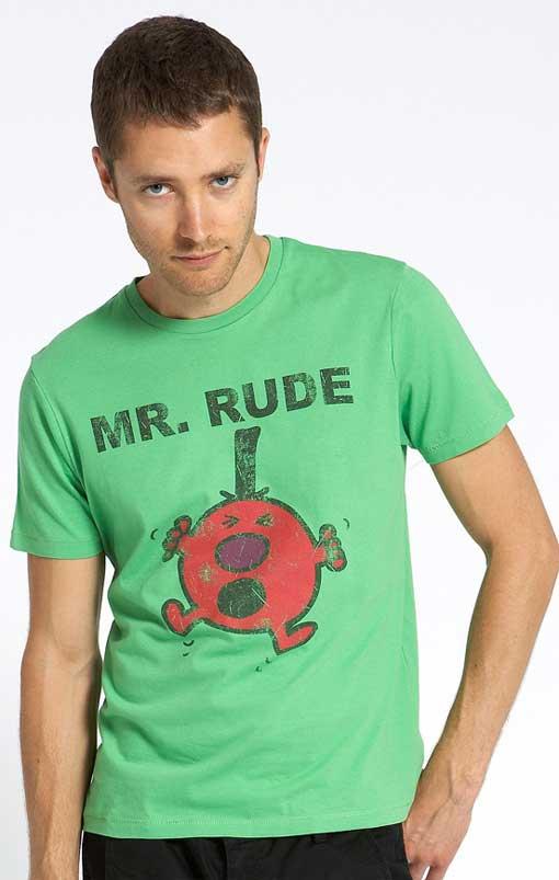 Mr. Rude Retro T-Shirt