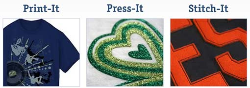 Print-It Press-It Stitch-It at Yerzies