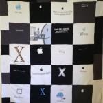 Apple Mac T-Shirt Quilt