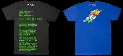 Microsoft Softwear T-Shirts