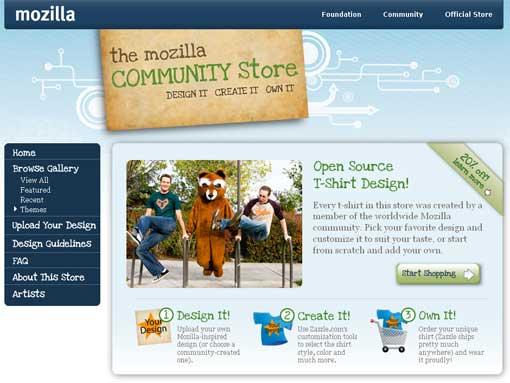Mozilla Crowdsourcing T-Shirt Designs