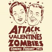 Valentines Zombies from Shirt Happens