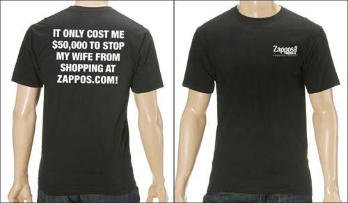 Zappos.com $50,000 T-Shirt