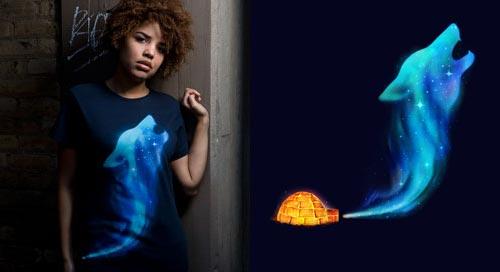 Arctic Howl T-Shirt by Enkel Dika