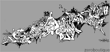 Fast Times design by Deza, shirt by ZBQ