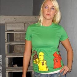 Kill Bots Green T-Shirt at ZBQ