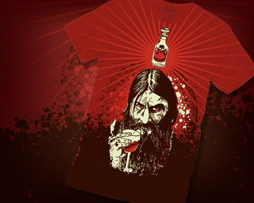 Old Rasputin Design by dcastle8183 at Design by Humans