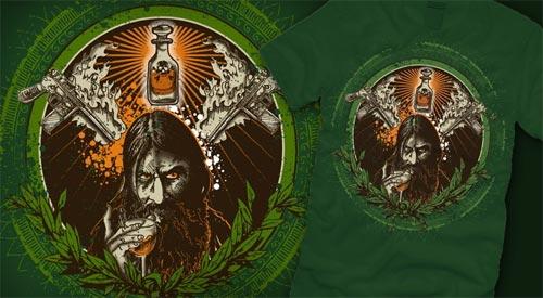 The Death of Rasputin T-Shirt by Castle