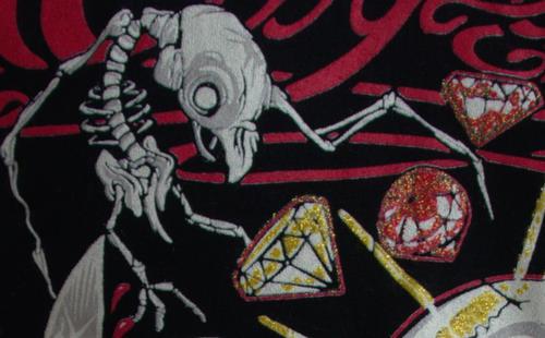 Life, Tis Precious Artist T-Shirt detail close up