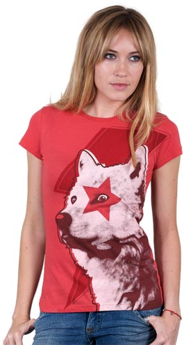 Star wolf T-Shirt by Recycledwax at Design by Humans