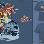 Sesame Street Fighter T-Shirt at Jinx