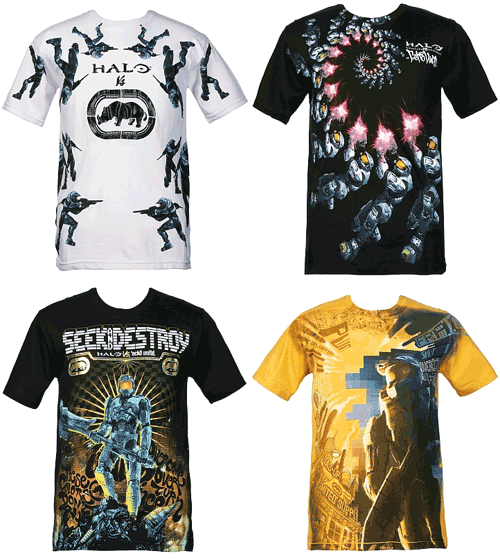 Halo T-Shirts by Mark Ecko