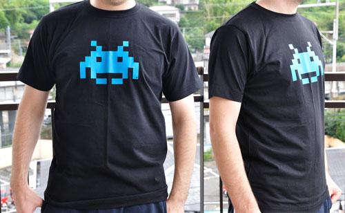 Retro Space Invader T-Shirt at Bytelove