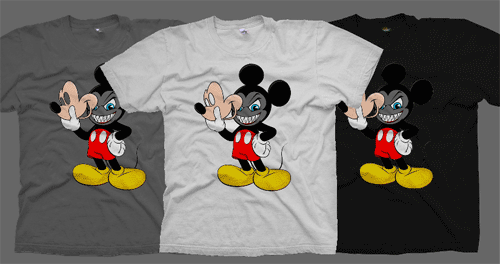 The Real Mouse T-Shirt at Another Enemy