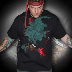 Afro Samurai Number One Headband T-Shirt