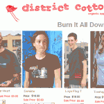 $5 Tees in Closing Down Sale at District Cotton