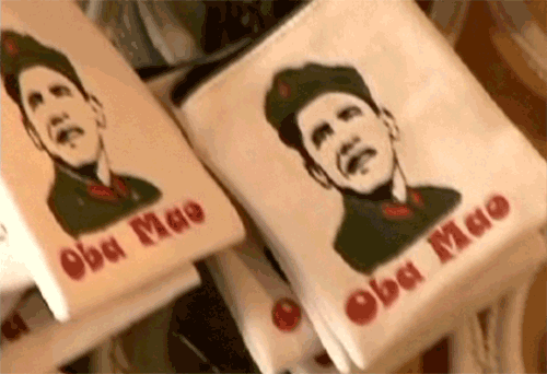 Banned in China Oba Mao t-shirts