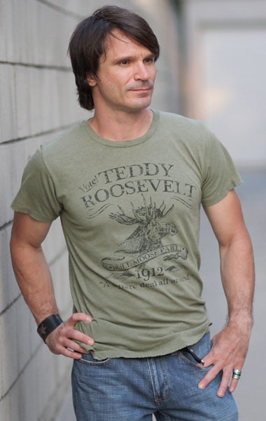 Theodore 'Teddy' Roosevelt Tee at Retro Campaigns