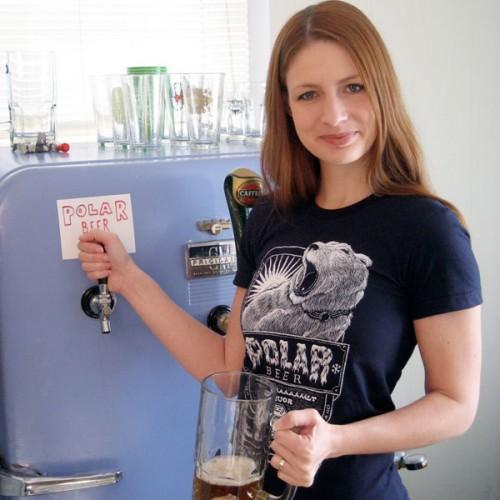 Lost Parody: Polar Beer T-Shirt by Ian Leino