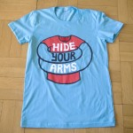 Hide Your Arms logo t-shirt