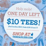 Last day of Threadless $10 sale