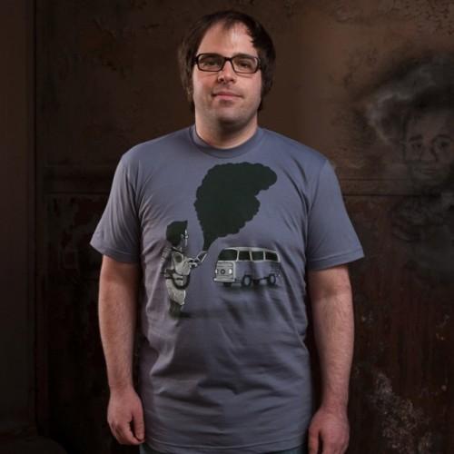 Smokebuster T-Shirt by Nacho Diaz Arjona