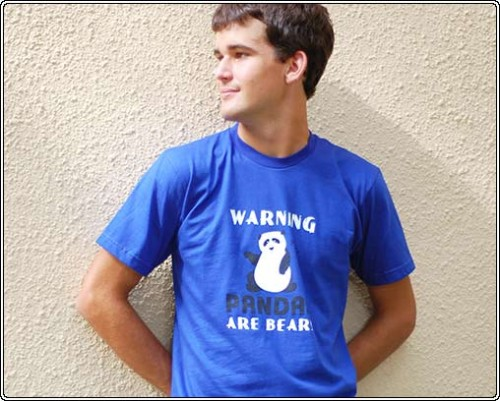 Warning, Pandas Are Bears T-Shirt