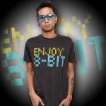 Enjoy 8-Bit Premium T-Shirt