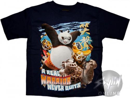 Kung Fu Panda Warrior Juvenile T-Shirt
