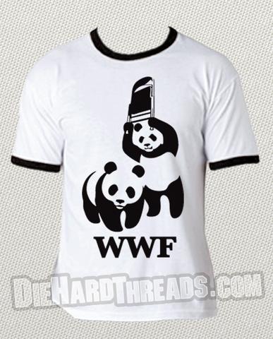 WWF Wrestling Panda T-Shirt